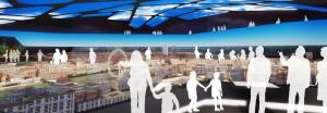 "Concepção artística do parque / Crédito: ""Little London, the greatest model city on Earth"""