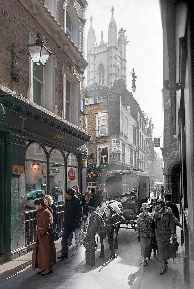 História viva nas ruas de Londres (4/6)