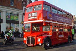 O Routemaster se tornou um dos símbolos da cidade