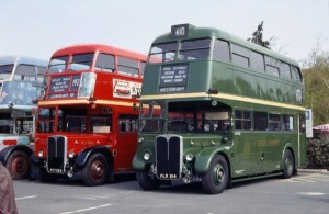 The RT Type was the predecessor of the Routemaster model, with very similar looks