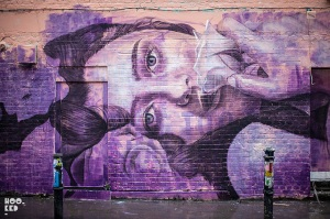 Artist: Rone Photo: Mark Rigney Published at Hookedblog.co.uk