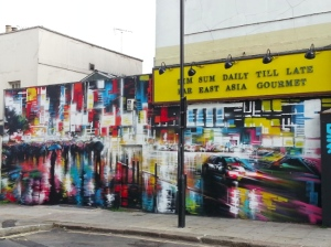 Artist:  Dan Kitchener's (aka DANK)  Photo: Pierrick Senelaer Published at http://www.artpie.co.uk/