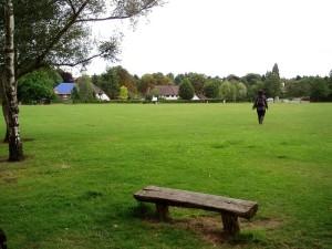 Woodcote Village Green, em Croydon, Londres - Foto: Ewan Munro - https://www.flickr.com/photos/55935853@N00/