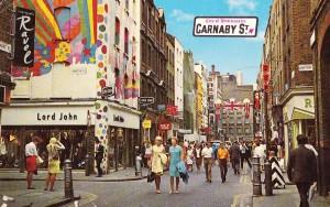 1960's Carnaby Street